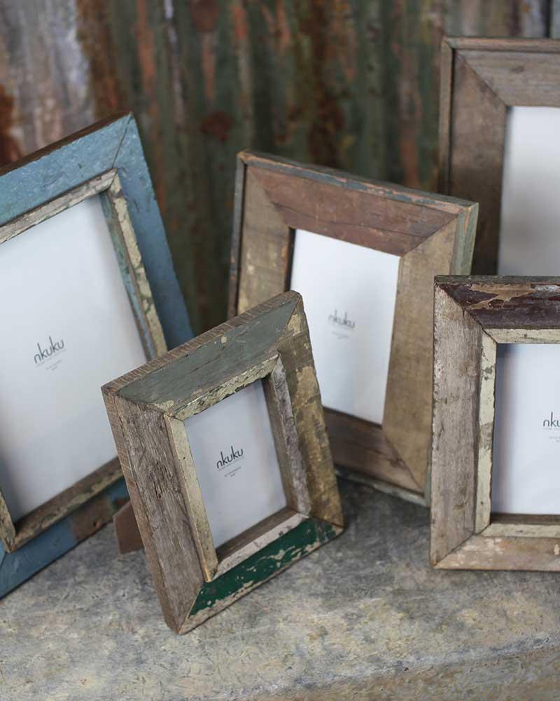 Malu Reclaimed Wood Frame ...