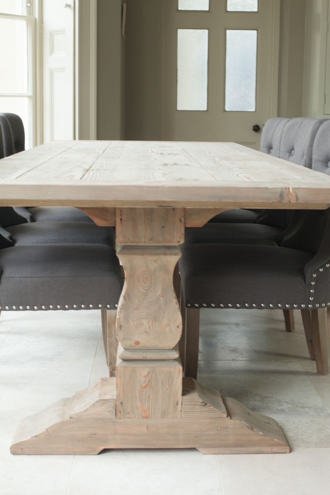 Grove Reclaimed Pine Refectory Table