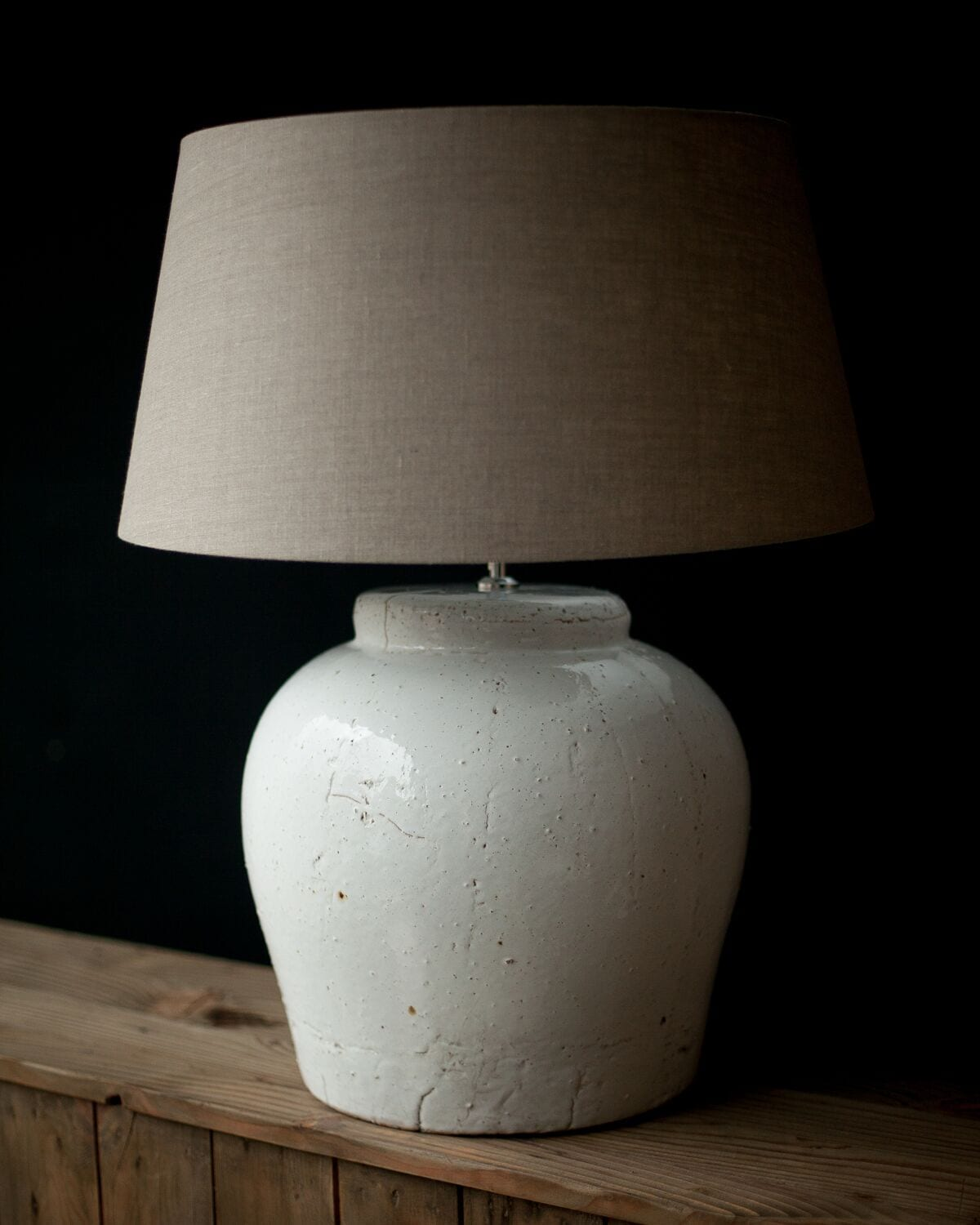 large white ceramic table lamp including shade willow. Black Bedroom Furniture Sets. Home Design Ideas