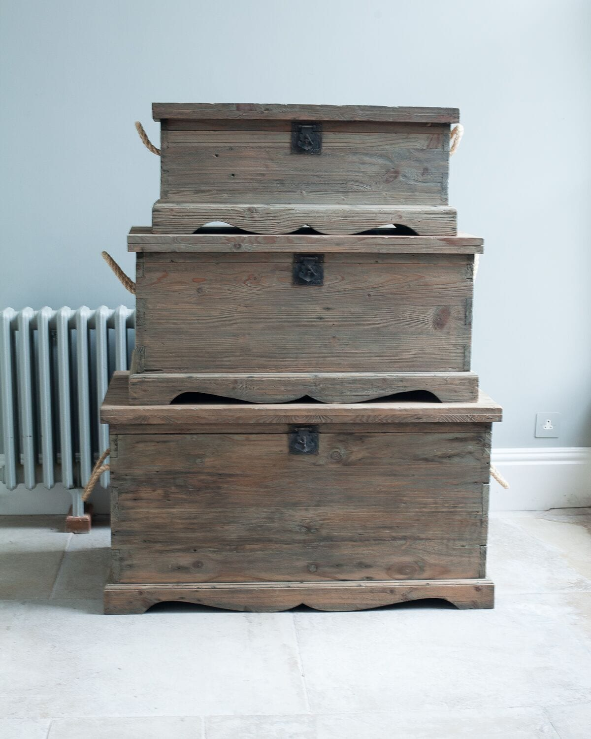 Reclaimed Pine Blanket Box Willow Lifestyle