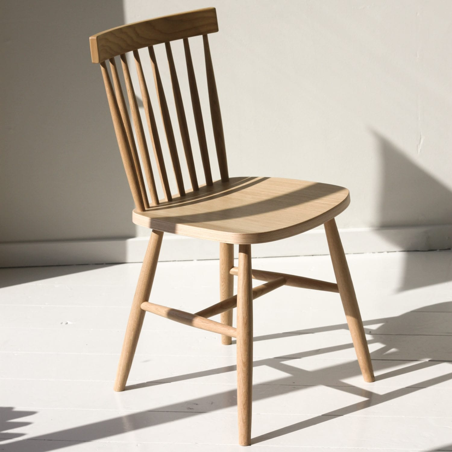 Oak Spindle Dining Chairs ~ Oak spindle back chair willow lifestyle lymington