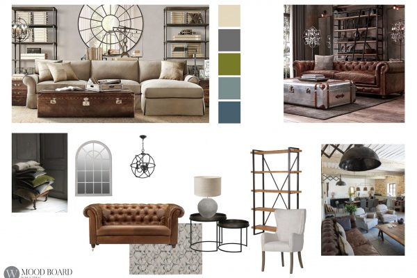 Mood Board Industrial