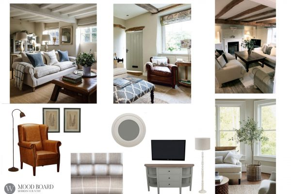 Mood Board Modern Country 3