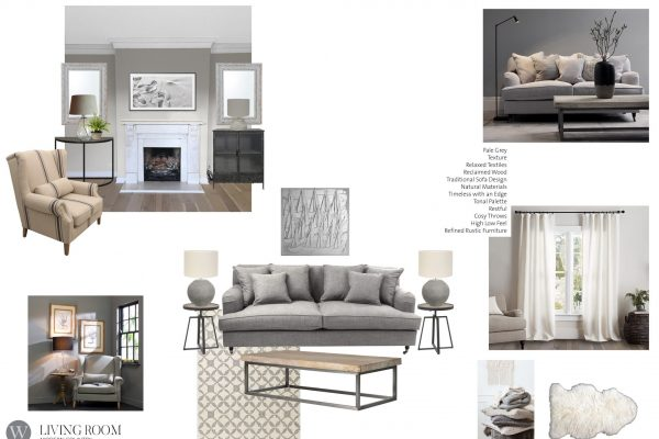 Mood Board Modern Country Snug