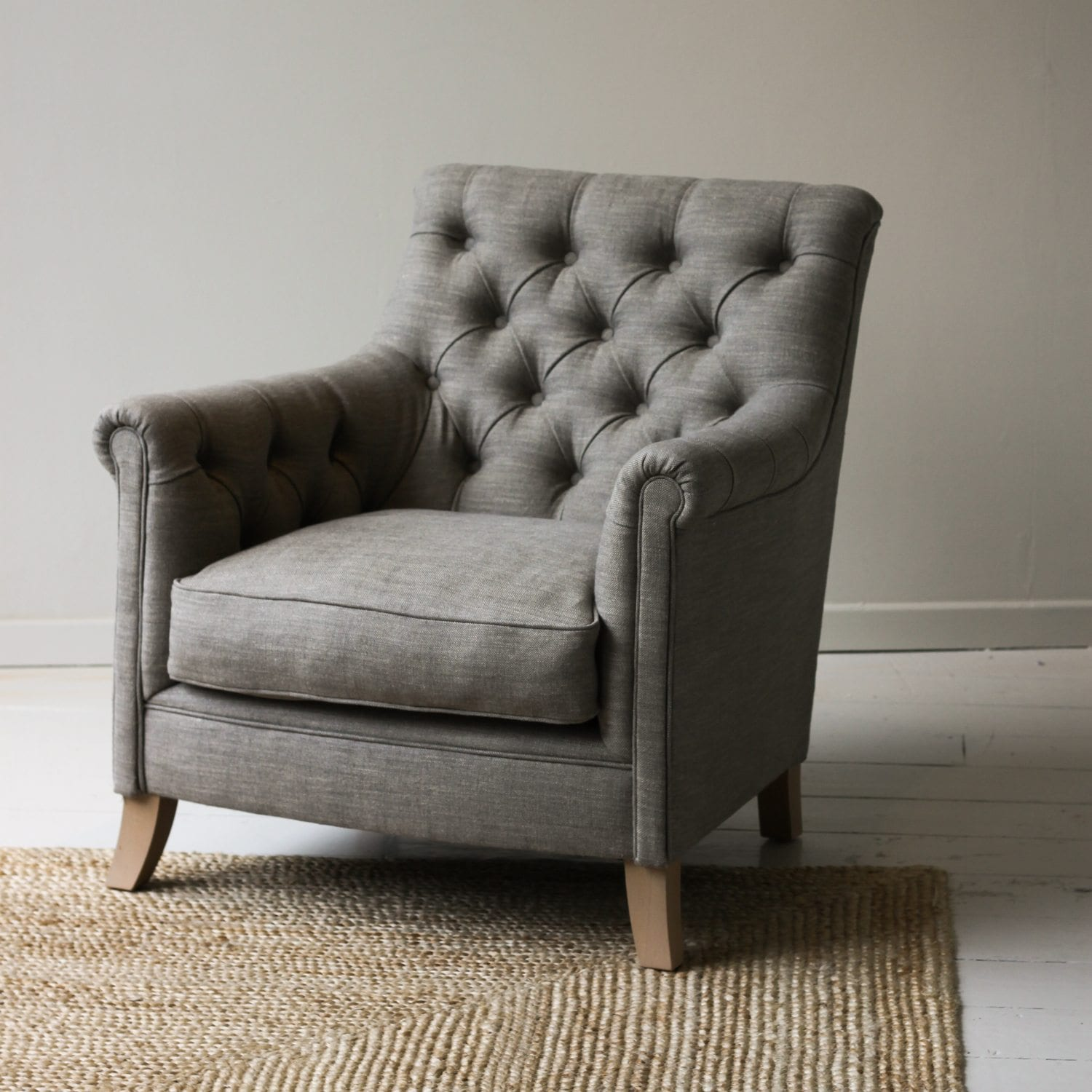 Brussels Button Back Armchair Furniture Chairs