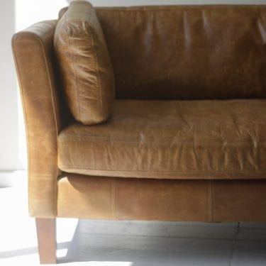 tan, sofa, croft leather