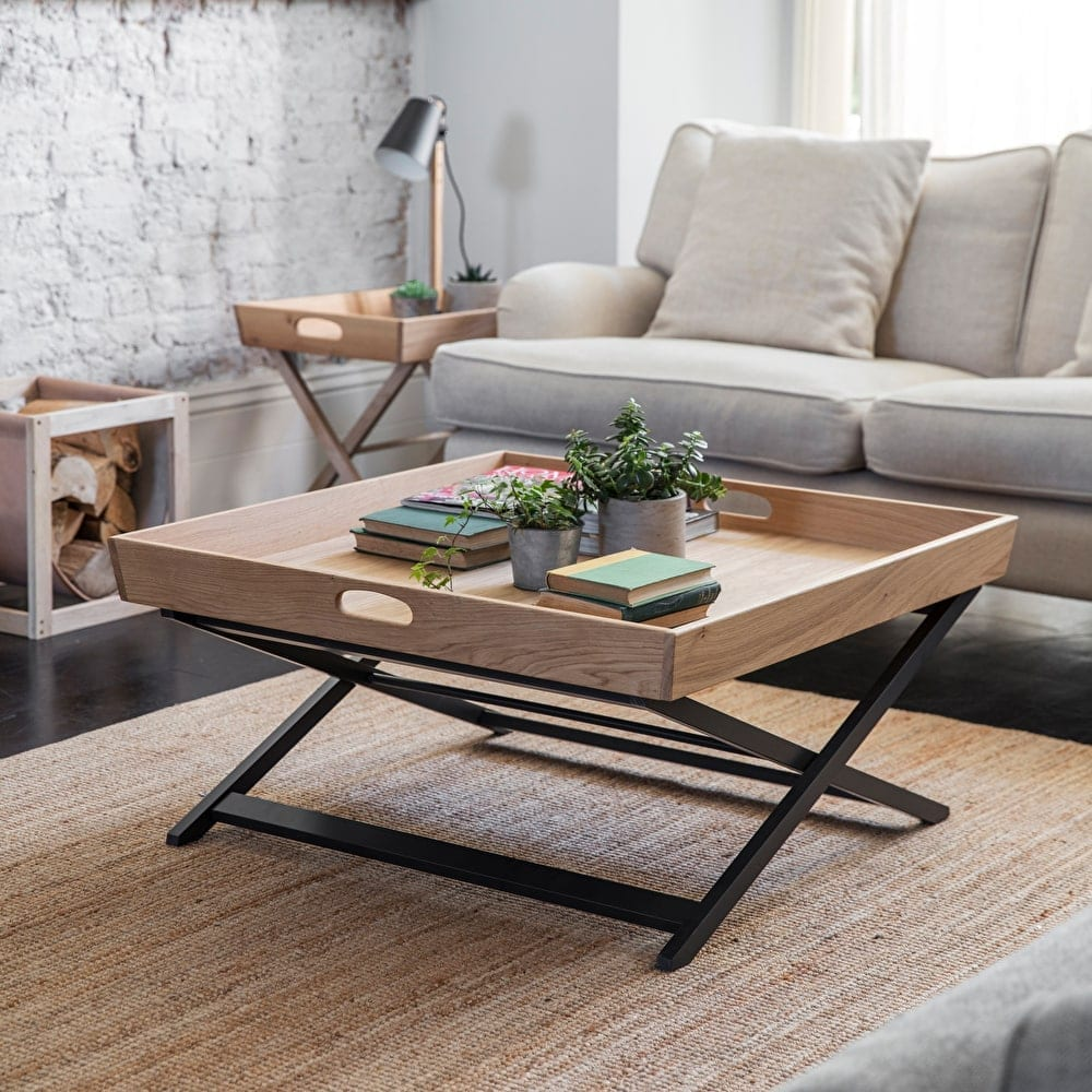 Carbon coffee table tables living room new season - Brickmakers coffee table living room ...