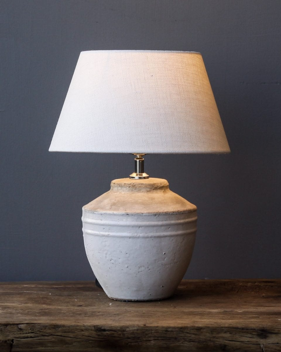 small-antique-white-lamp