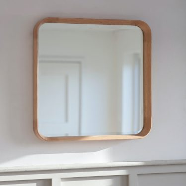 Oak Square Mirror