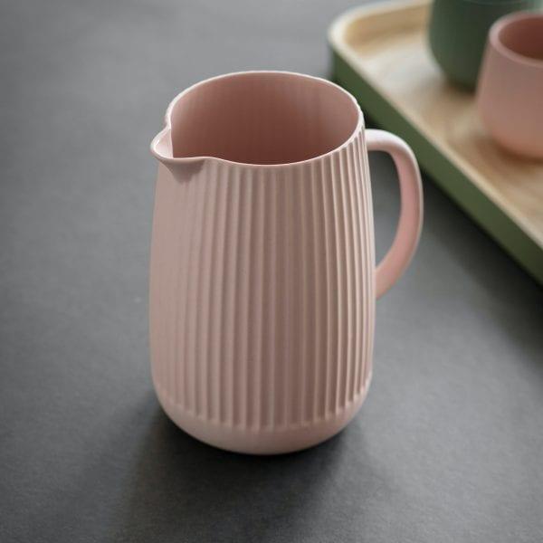 Ceramic Linear Jug