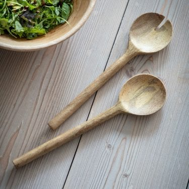 Mango Wood Serving Spoons
