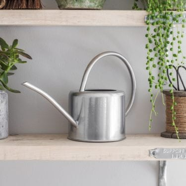 silver 1.9L Indoor Watering Can (2)