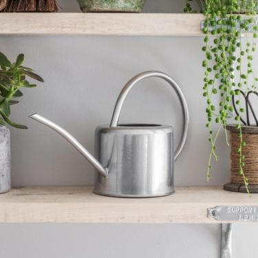 silver 1.9L Indoor Watering Can
