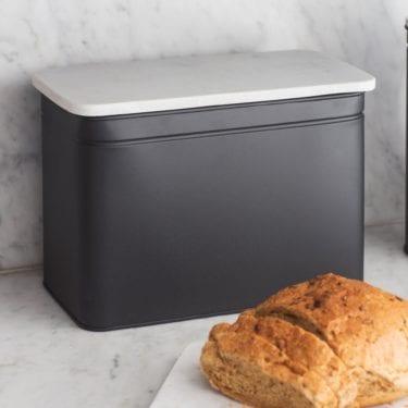 Bread Bin with Marble Lid